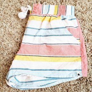 3/$15 Lucky Brand Kids Cotton Elastic Shorts